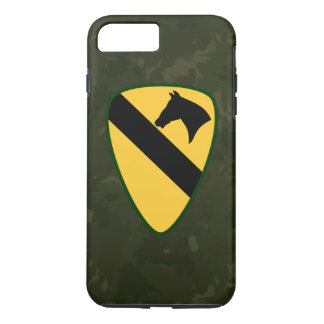 "1st Cavalry Division ""First Team"" Dark Green Camo iPhone 7 Plus Case"