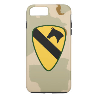 "1st Cavalry Division ""First Team"" Desert Camo iPhone 7 Plus Case"
