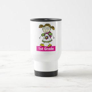 1st Grade Girls Travel Mug