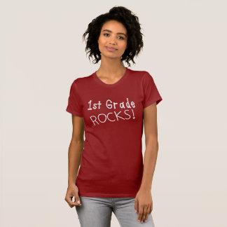 1st Grade Rocks Women's T-Shirt. T-Shirt