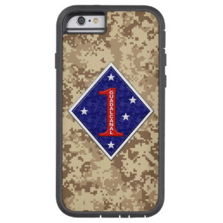 "1st Marine Division ""The Old Breed"" Marine Camo Tough Xtreme iPhone 6 Case"