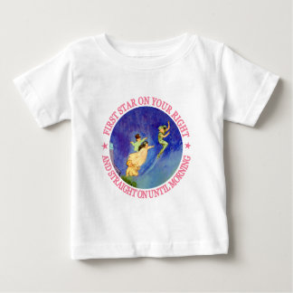 1ST STAR ON YOUR RIGHT, STRAIGHT ON UNTIL MORNING BABY T-Shirt