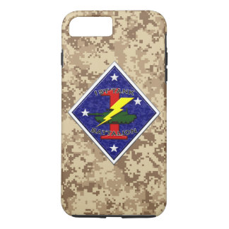 1st Tank Battalion - 1st Marine Division Camo iPhone 7 Plus Case