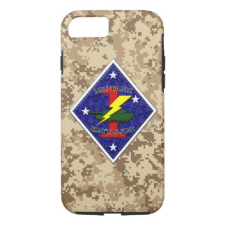 1st Tank Battalion - 1st Marine Division iPhone 7 Case