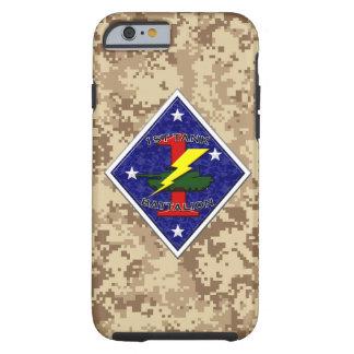 1st Tank Battalion - 1st Marine Division Tough iPhone 6 Case