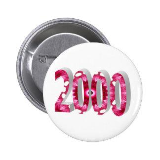 2000 6 CM ROUND BADGE