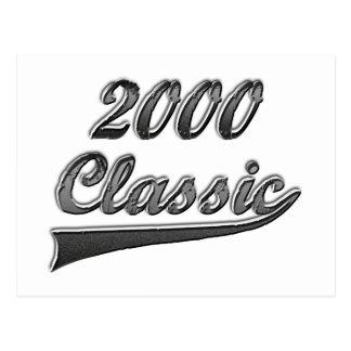 2000 Classic Post Card