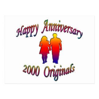 2000 Couple Postcard