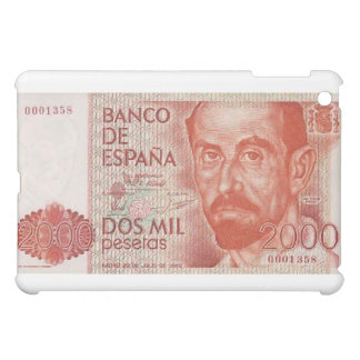 2000 Dos Mil Pesetas Spain  Cover For The iPad Mini