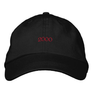 2000 Embroidered Hat