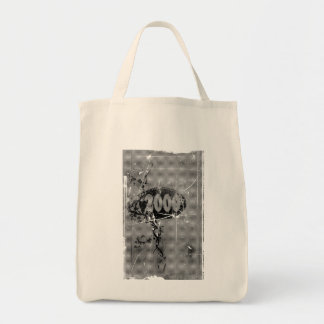 2000 - Gray vintage retro - Tote Bags