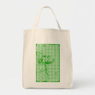 2000 - Green vintage retro - Tote Bags