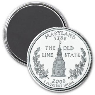 2000 Maryland State Quarter magnet