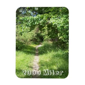 2000 Miler Appalachian Trail Rectangular Magnets