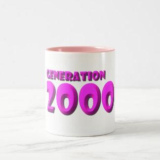 2000 Two-Tone COFFEE MUG