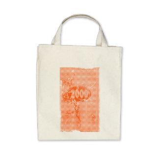 2000 - Orange vintage retro - Tote Bags