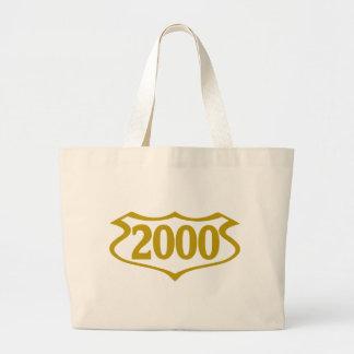 2000-shield.png tote bag