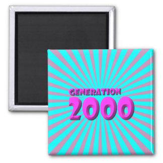 2000 SQUARE MAGNET