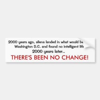 2000 years down the drain car bumper sticker