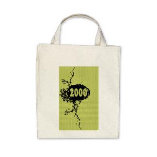 2000 - yellow vintage retro - Tote Bags