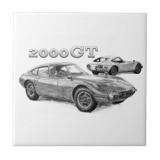 2000GT SMALL SQUARE TILE