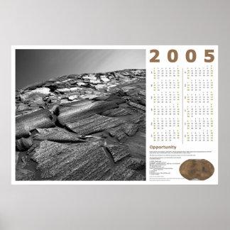 2005 Calendar: Opportunity Poster