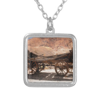 2010-06-28 C Calico Ghost Town (53)old_wagon Silver Plated Necklace