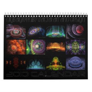 2010 apophysis fractal calendar