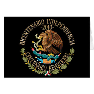 2010 Mexican Independence/Revolution Card