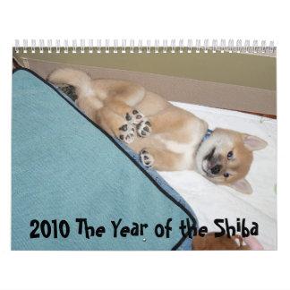 2010 The Year of the Shiba Wall Calendar