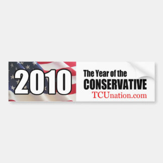 2010 Year of the Conservative bumper sticker