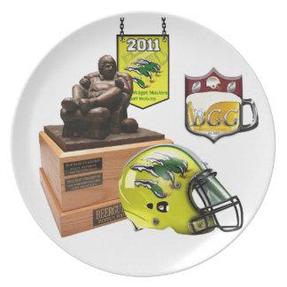2011 BeerGuts Champ Commemorative Plate