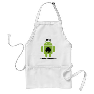 2011 Cambrian Explosion (Android Bug Droid) Standard Apron