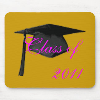 2011 Graduate Class of Cap and Gown Template2 Mousepads