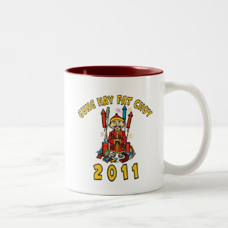 2011 Gung Hay Fat Choy Gift Two-Tone Coffee Mug