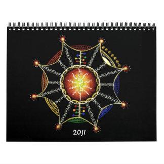2011 Mandala Calender Calendars