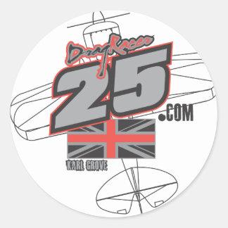 2012 Air Race DragRacer25.com Merchandise Classic Round Sticker