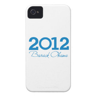 2012 - Barack Obama blue iPhone 4 Case