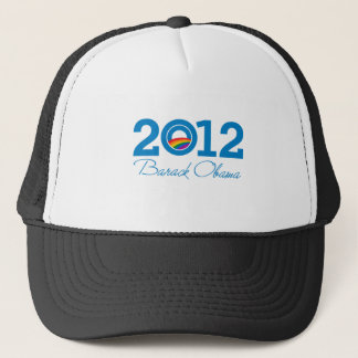 2012 - Barack Obama Pride Trucker Hat