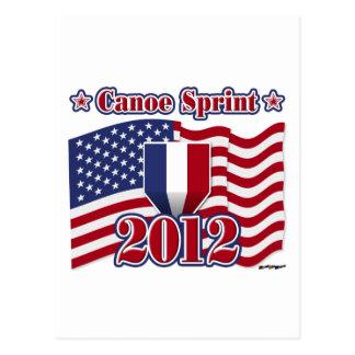 2012 Canoe Sprint Postcard
