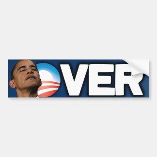 2012 Election - Anti Obama - Over Bumper Sticker