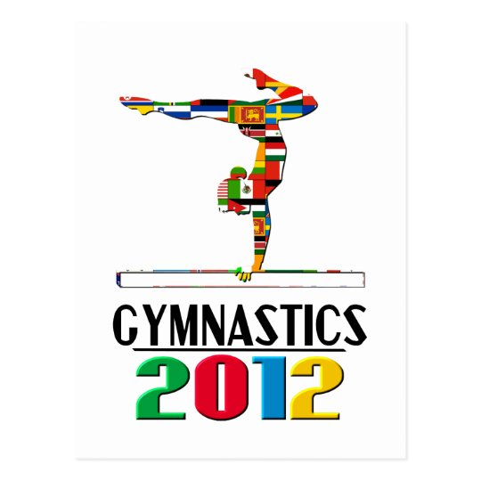 2012: Gymnastics Postcard