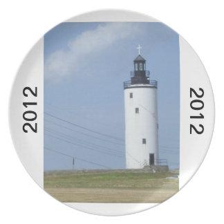 2012 lighthouse dinner plate