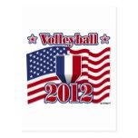 2012 Volleyball Postcard