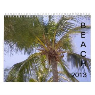 2013 Beach Calendar