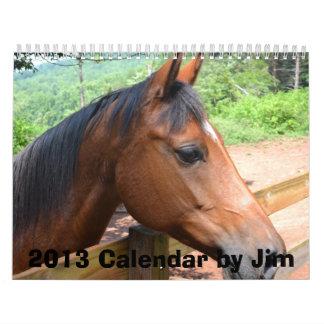 2013 Calendar by Jim