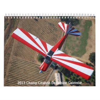 2013 Champ Citabria Decathlon Calendar