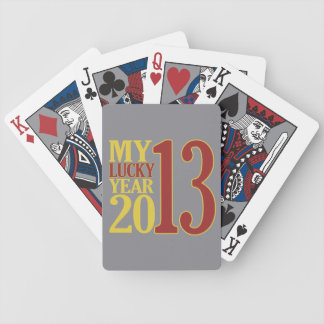 2013 custom playing cards