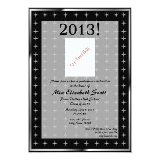 2013 Graduation 13 Cm X 18 Cm Invitation Card