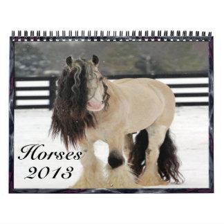 2013 Horse calendar